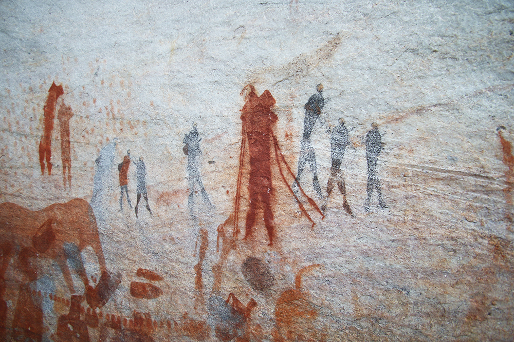 Bushmans Kloof rock art 11